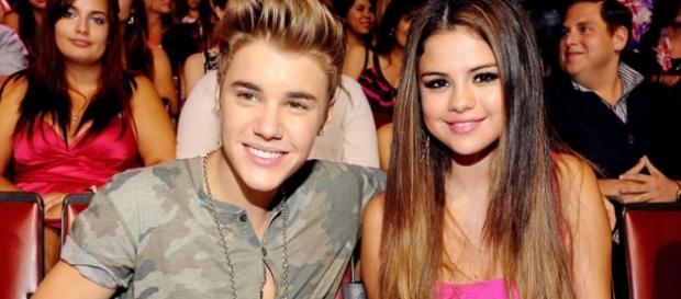 Justin Bieber e Selena Gomez ai Grammy Awards 2016