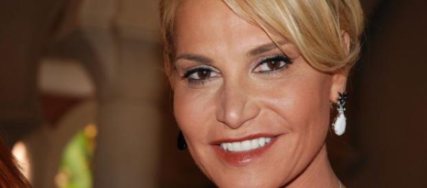 La conduttrice televisiva Simona Ventura