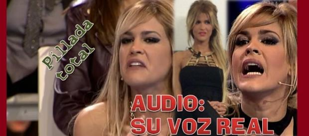 Pillada total, el audio con la voz real