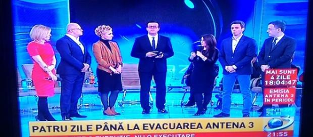 Reprezentanții Antena 3 împotriva ANAF