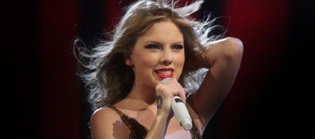 Taylor Swift won the top album award at Grammys