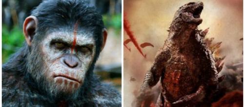 Dawn of the Planet of the Apes y Godzilla (2014)