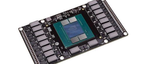 Foto de las nuevas GPU Pascal de NVIDIA.