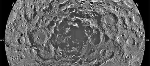 Lunar South Pole (Credit NASA)