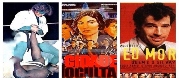 Alguns dos vários filmes inspirados em HQs