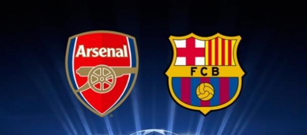Arsenal vs Barcelona Octavos de la Champions