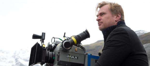 Christopher Nolan en el rodaje de Interstellar