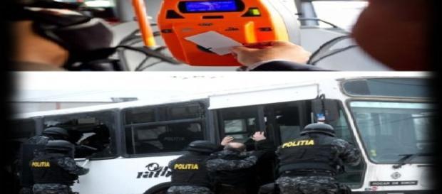 Controlorii cu Jandarmeria și Poliția