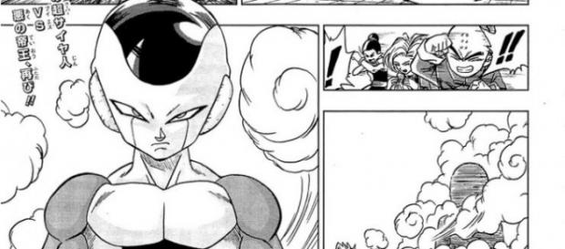Forma final de Frost contra Goku