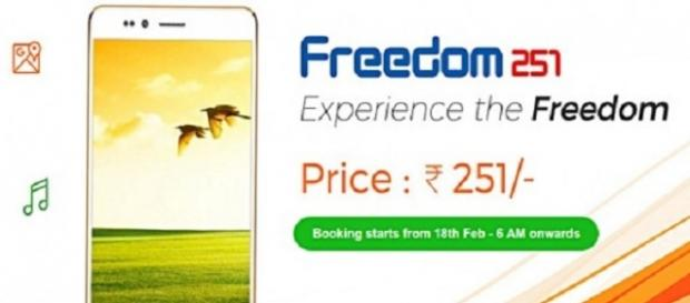 Freedom 251: Quad-core powered (Twitter)