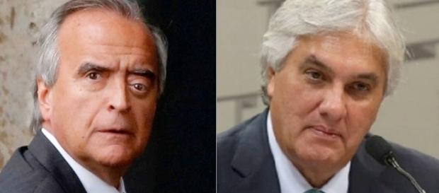 Nestor Cervero e Delcídio do Amaral