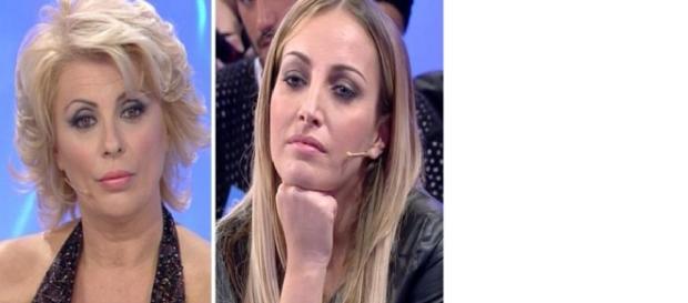 Uomini e donne: Tina contro Rossella.