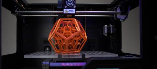 3D printer in action via Flickr
