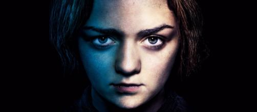 Arya Stark interpretata da Maisie Williams