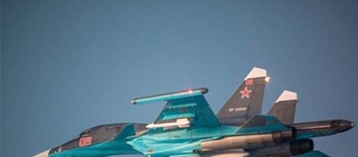 Avión de combate ruso Sukoi 35