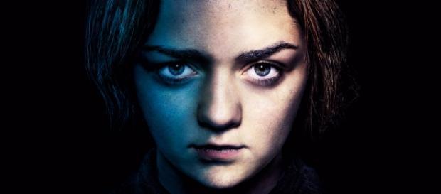 Arya Stark interpretata da Maisie Williams