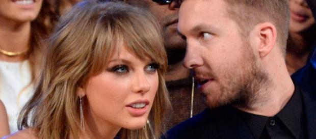Calvin faz de tudo por Taylor Swift