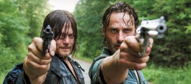 Daryl Dixon y Rick Grimes. (6x10)