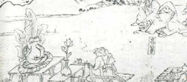 El chojugiga, considerado como el inicio del manga