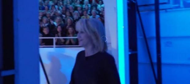 Littizzetto-Belen a C'è Posta per Te, backstage