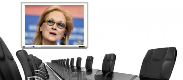 Meryl Streep Takes on the Film Industry Boardroom