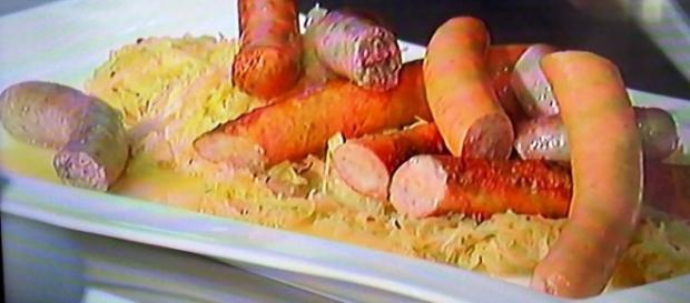 Ricetta originale di wurstel e crauti