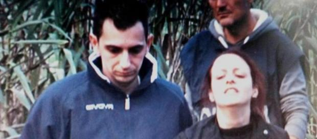 Veronica Panarello dopo il ritrovamento del figlio