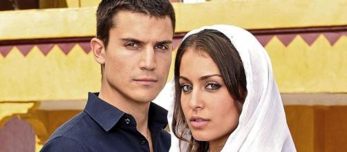 Ángel Gonzalez e Hiba Abouk, los protagonistas.