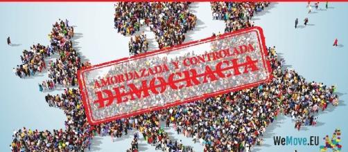 La imagen de la campaña de WeMove.EU