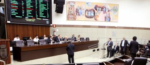 Sessão plenária da Câmara Municipal de BH