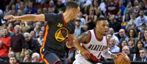 Stephen Curry e Damian Lillard.