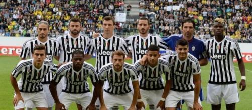 Una formazione della Juventus 2015-2016