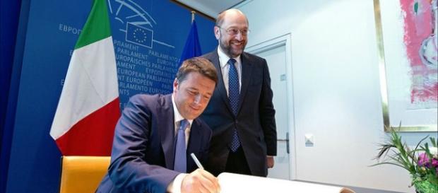 Il premier italiano Matteo Renzi.
