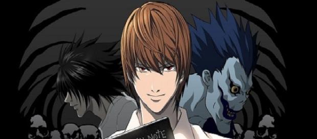 """Los personajes principales de """"Death Note"""""""