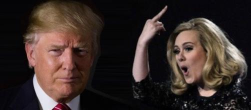 Adele no quiere que se le relacione con Trump