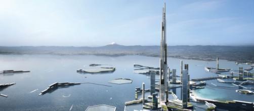(KPF Dfocus) La Sky Mile Tower nella Next Tokyo
