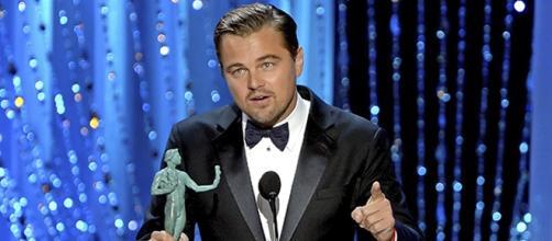 Leonardo DiCaprio en los premios SAG 2016