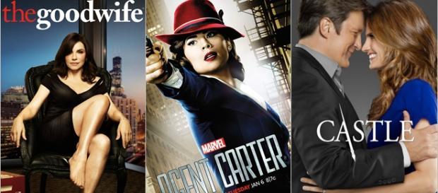 Agent Carter e Castle são da ABC.