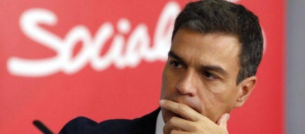 Il leader socialista Pedro Sanchez