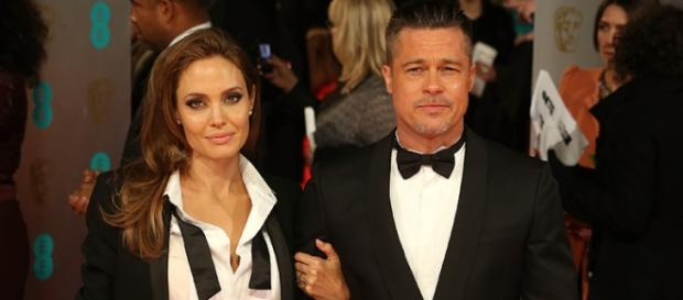 La coppia Brad Pitt e Angelina Jolie