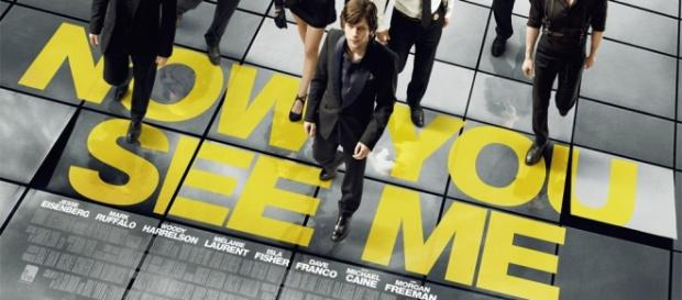 La cover del film Now you see me