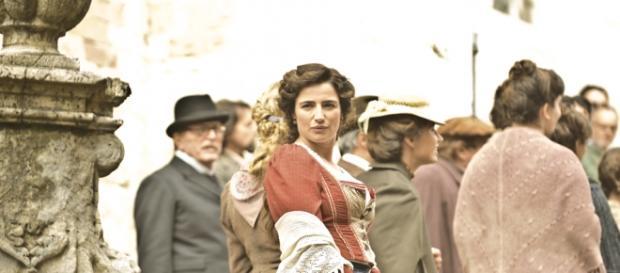 Luisa SPagnoli replica 1^ e 2^ puntata.