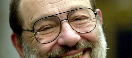 Il grande scrittore Umberto Eco mancato ieri