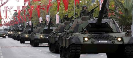La Turchia si prepara ad invadere la Siria