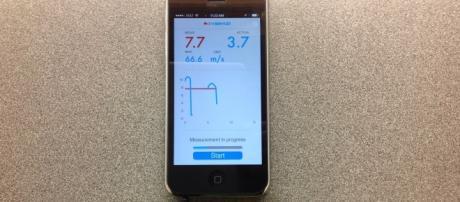 Uno smartphone nuovo della Wind