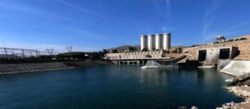 La grande diga di Mosul in Iraq