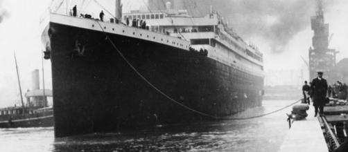 RMS Titanic en Southampton Inglaterra 1912
