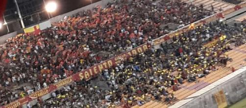 Tanti spettatori per Lecce- Foggia.