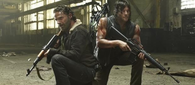 Rick y Daryl se reencuentran en 'The Walking Dead'
