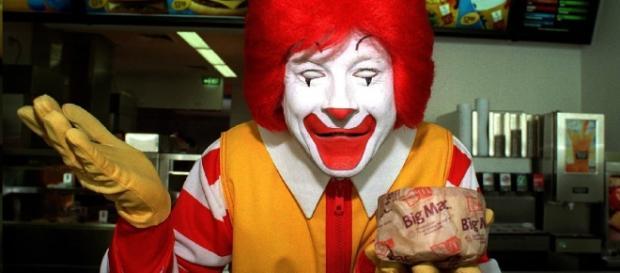 Ronald McDonald´s, personaje característico.